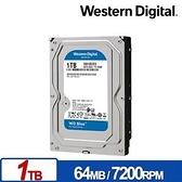 WD 藍標 1TB 3.5吋 SATA硬碟 WD10EZEX
