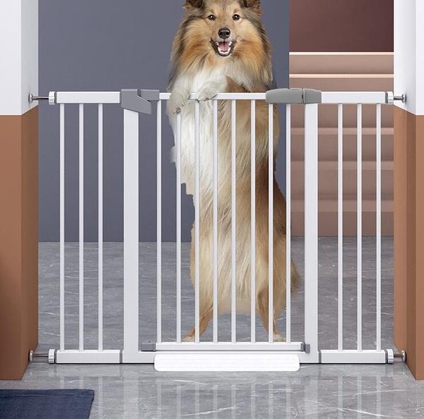 寵物圍欄 柵欄家用室內防擋貓門欄貓咪狗籠子大中小型犬隔離門TW【快速出貨八折鉅惠】