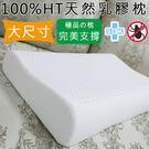 人體工學乳膠枕 100%HT天然乳膠(工學型)