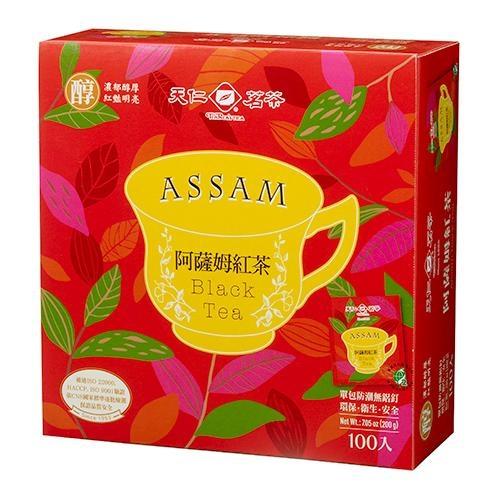 天仁阿薩姆紅茶防潮包2G x100包【愛買】