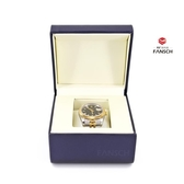 高級香檳色手錶盒 高檔手錬盒 定制手鐲盒 品牌手錶盒子私人定制