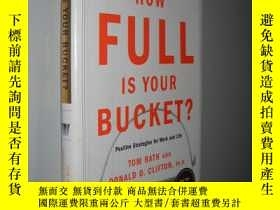 二手書博民逛書店How罕見Full Is Your Bucket? 你的水桶有多