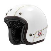 【東門城】ASTONE SPORSTER II VV70 (白/金)半罩式安全帽 復古帽