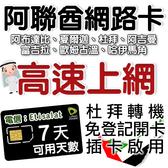 7日 阿聯酋 杜拜上網卡 網路卡 轉機專用網卡 阿布達比上網 阿拉伯聯合大公國上網/旅遊網卡