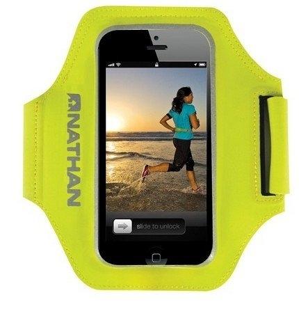 NATHAN 超音速手臂套 NA4920 (適用4.5吋手機) 運動臂套 慢跑 路跑 夜跑 馬拉松 SuperSonic for iPhone