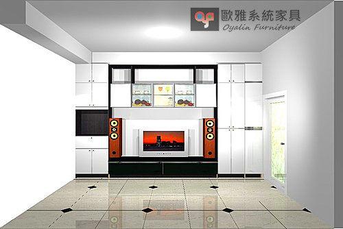 【歐雅系統家具】書桌收納櫃 客製化設計 系統家具 顏色材質任意搭配