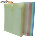 7折【10個量販】 HFPWP 加大直式壓花透明文件袋 環保材質 GF119-10