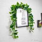 高品質仿真植物藤條假樹葉葉子空調管道裝飾綠色綠蘿遮擋花藤綠葉 3C優購