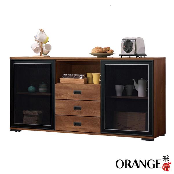 【采桔家居】邱比時 現代5尺多功能餐櫃/收納櫃