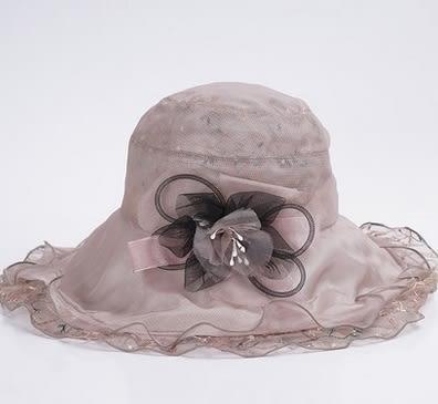 新品防曬遮陽帽可折疊防紫外線大沿簷太陽帽  -charle00564