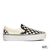 【GT】Vans Slip On Platform 黑白 女鞋 低筒 格紋 增高 棋盤格 至尊鞋 滑板鞋 厚底鞋 懶人鞋 休閒鞋