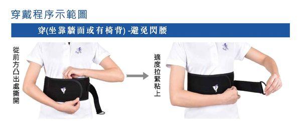 拉環護腰帶 GoAround 8吋涼感支撐型護腰(1入) 醫療護具  專利拉帶結構 不易鬆弛 不良姿勢調整