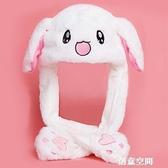 抖音網紅明星同款毛絨玩具可愛超萌兒童女孩女生小白兔兔小號兔子 創意空間