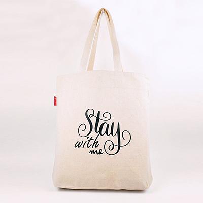 帆布袋 側背包 Stay with me|帆布包 手提包 手提袋 環保購物袋 文青帆布包【mocodo 魔法豆】