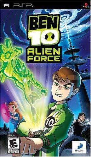 PSP Ben 10 Alien Force 少年駭客:外星英雄(美版代購)