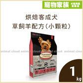 寵物家族-烘焙客Oven-Baked-成犬草飼羊配方(小顆粒)1kg