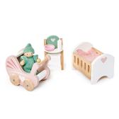 【美國Tender Leaf Toys】豪華嬰兒房套組(娃娃屋配件)