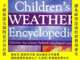 二手書博民逛書店Children`s罕見weather encyclopedia