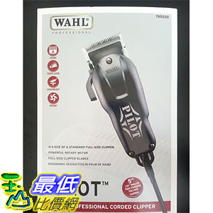 [美國直購] WAHL PILOT Professional Compact Hair Clipper 8483 + 8 Haircut Attachment Combs 理髮器 _cb0