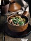繪市集創意砂鍋燉鍋粗陶微波小鍋家用煲仔飯高溫湯鍋健康帶蓋湯鍋 夢幻小鎮