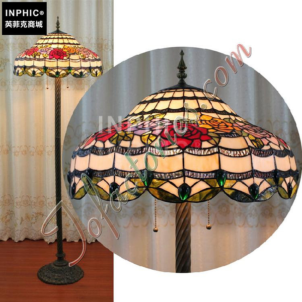 INPHIC-訂製22寸手工藝術落地燈19世紀英倫創意餐廳裝飾燈具別墅酒吧燈飾_S2626C