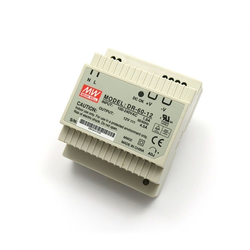 [2美國直購] denkovi 導軌電源 12V/4.5A Industrial DIN Rail Power Supply DR-60-12