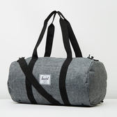 Hsin 84折 現貨 Herschel Sutton 中型 灰黑 深灰 灰色 帆布 側背 手提 出國 登機 旅行袋
