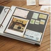 回憶錄DIY粘貼式相冊本插頁式拍立得情侶手工家庭覆膜紀念冊禮物 童趣屋