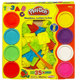 Play-Doh 培樂多黏土 字母數字遊戲組 TOYeGO 玩具e哥