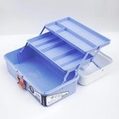 加厚大號三層五金工具箱家用美術箱收納水粉塑料透明學生畫箱美甲