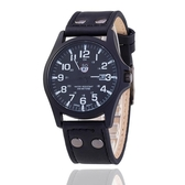 兒童電子手錶男女孩禮物高中小大學生運動時尚皮質帶卡通指針腕表☌zakka