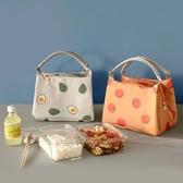 保溫袋手提飯盒包飯盒袋加厚鋁箔便攜帆布學生帶飯的保溫包便當包