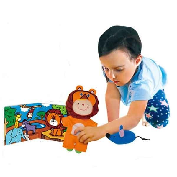 《K's Kids奇智奇思》角色扮演遊戲組︰獅子和兔子