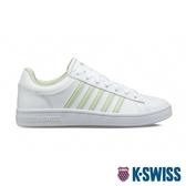 K-SWISS Court Winston時尚運動鞋-女-白/粉綠