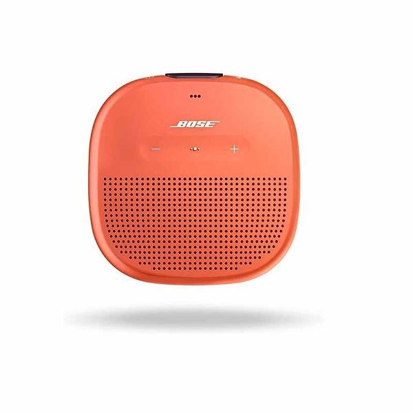 Bose SoundLink Micro 便攜式戶外揚聲器 黑/藍/橘 [2美國直購]