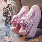 女童鞋 回力童鞋女童小白鞋兒童皮面單鞋中大童運動板鞋二棉鞋子 快速出货