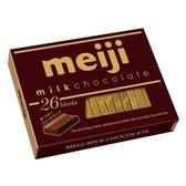 明治盒裝巧克力-牛奶口味120g【愛買】
