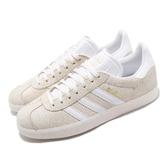 【海外限定】 adidas 休閒鞋 Gazelle W 米白 白 裸色系 女鞋 運動鞋 【PUMP306】 B41655