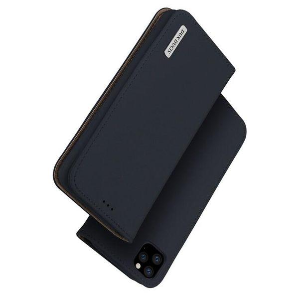 奢華翻蓋式皮套IPhone 11pro手機套 簡約純色蘋果11pro Max插卡商務 手機殼 多功能iphone 11保護套