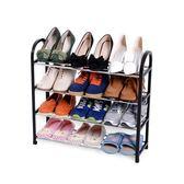 宿舍鞋架多層簡易學生家用單人迷你小號可拆卸折疊多功能防塵鞋柜10   夢曼森居家