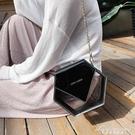 網紅小黑包夏季小包包女包新款斜背包錬條側背包透明果凍包 黛尼時尚精品