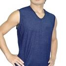 LOVIN 4件組精典時尚型男彩色羅紋寬肩背心(隨機取色)