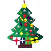 聖誕樹 毛氈聖誕節裝飾 掛件 DIY 裝飾品 耶誕節 聖誕節 場地布置 聖誕派對 橘魔法 現貨 PARTY