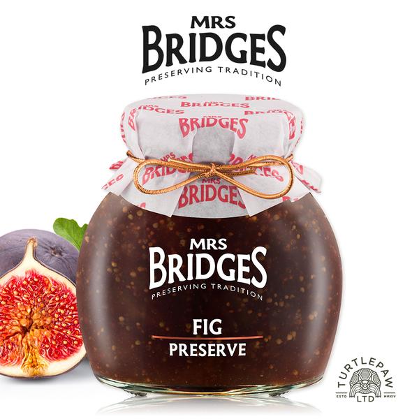 【MRS. BRIDGES】英橋夫人無花果果醬(大)340g 交換禮物首選