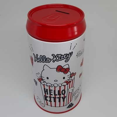 Hello Kitty 圓筒型存錢筒/撲滿/收納盒