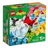 10909【LEGO 樂高積木】得寶 Duplo 系列 心型盒 (80pcs)