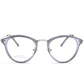 鏡架(橢圓框)-韓版時尚百搭流行男女平光眼鏡5色73oe57【巴黎精品】