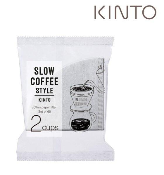 金時代書香咖啡 KINTO Slow Coffee Style 專屬濾紙 02 KINTO-27633-02