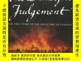 二手書博民逛書店1630年,倫敦大火紀實罕見The Dreadful Judge
