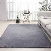 客廳地毯 北歐純色簡約地毯客廳茶几墊臥室滿鋪床邊毯加厚可水洗家用地毯墊【快速出貨】